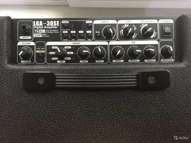 Продам Lutner Гитарный комбоусилитель цифровой