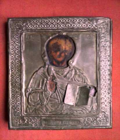 Продам Старинная икона Господь Вседержитель