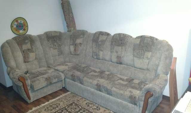 Отдам даром Мягкая мебель в виде углового дивана