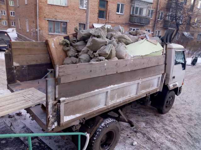 Предложение: Услуги по вывозу мусора.
