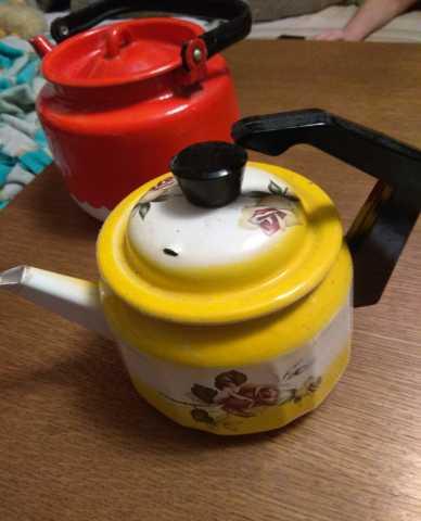 Продам Чайники эмалированные. CCCP. 2 шт.