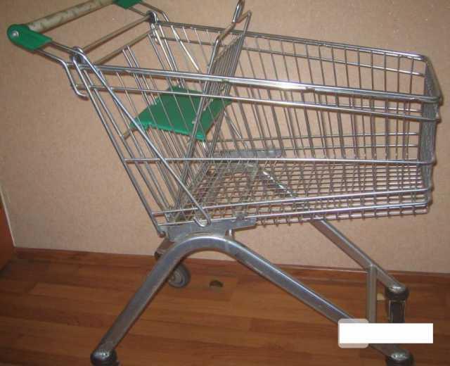 Продам тележки покупательские «Wanzl» ЕL-75