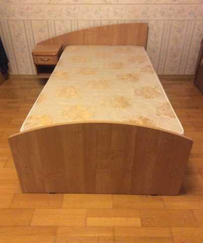 Куплю одноместная кровать с матрасом