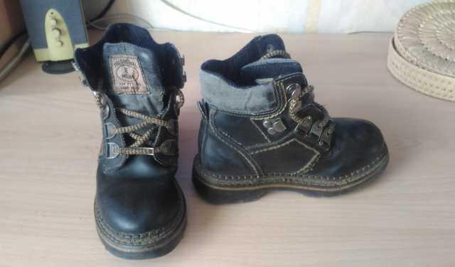 """Продам Детские ботинки """"MEGA""""(кожа)"""