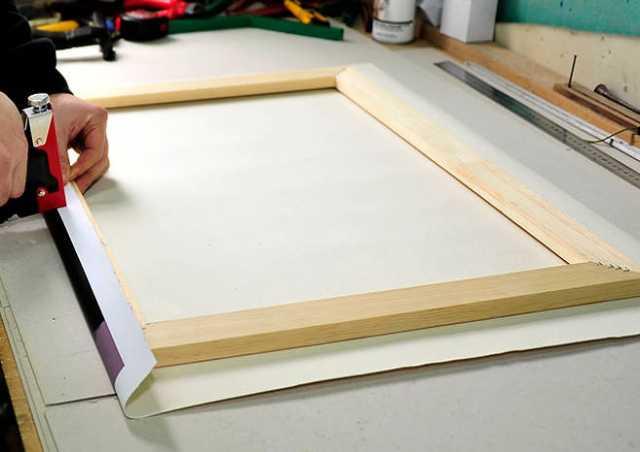 Предложение: Изготовление подрамника