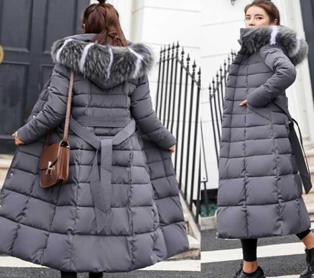 Продам Пуховик-пальто женский размер L (46-48)
