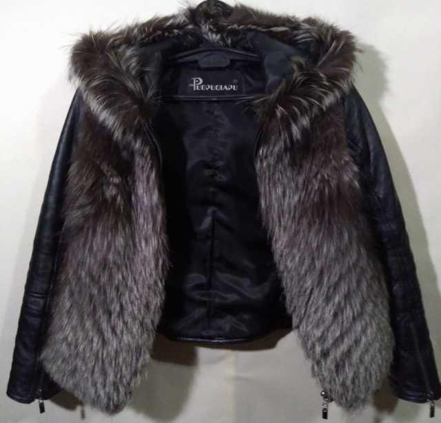Продам Кожаная куртка женская