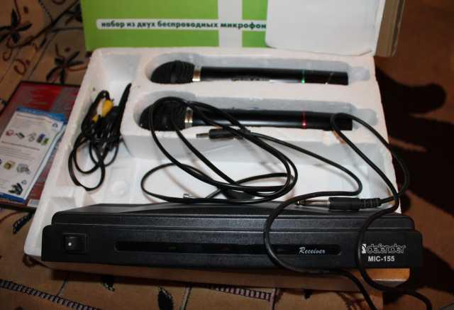 Продам Ресивер Караоке с 2-мя микрофонами