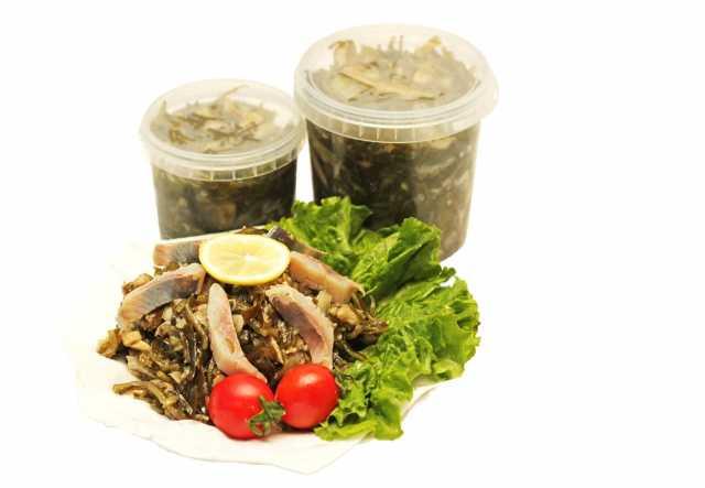 Продам Салаты и солянки из морской капусты