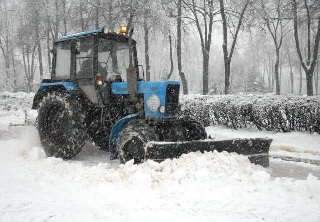 Предложение: Уборка снега трактором заказать