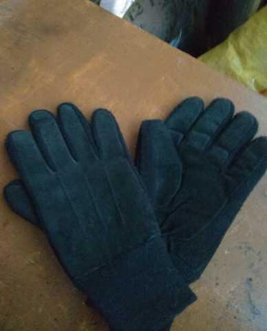Продам Перчатки кожаные зимние.