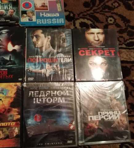 Продам Фильмы и мультфильмы