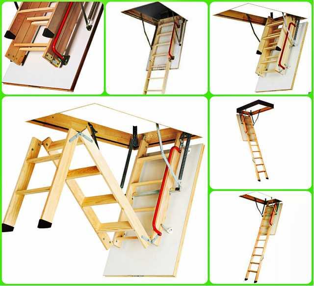 Продам: лестница мансардная чердачная