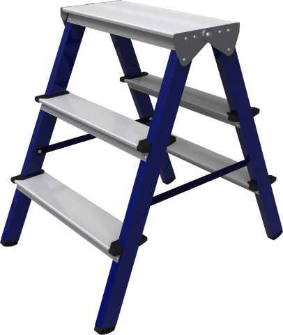 Продам Стремянка стальная двухстороняя