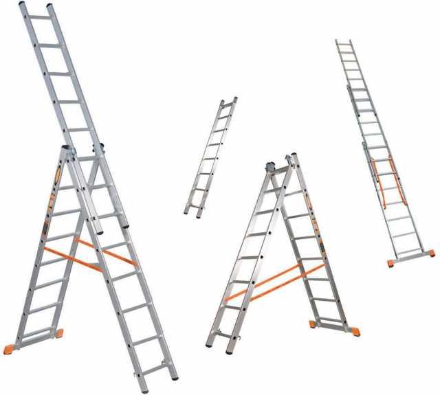 Продам Универсальная трехсекционная лестница