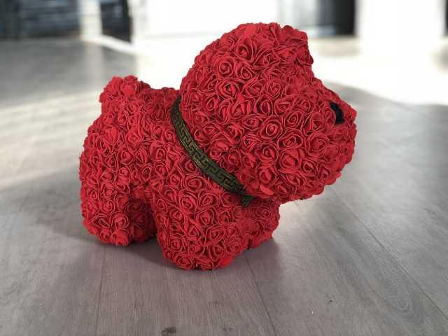 Продам Собачка из роз