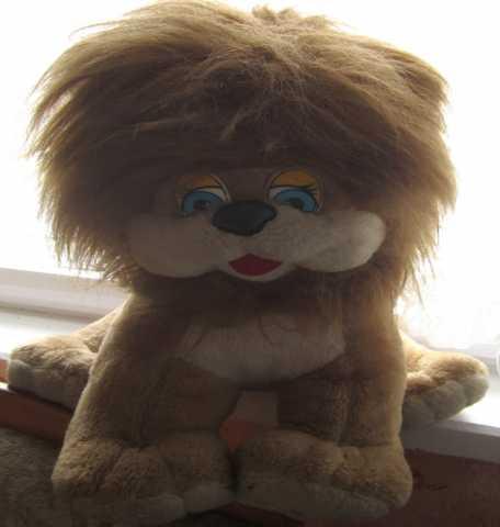 """Продам детская мягкая игрушка """"львенок""""."""