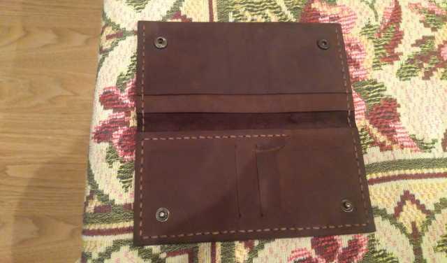 Продам кошелек bruxel портмоне LEATGER GOODS
