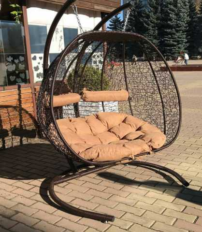 Продам подвесное кресло двухместное