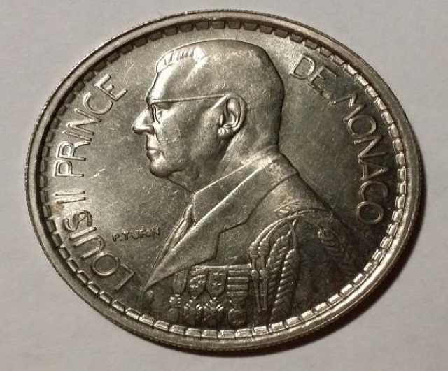 Продам: 3 монеты Монако прошлого века