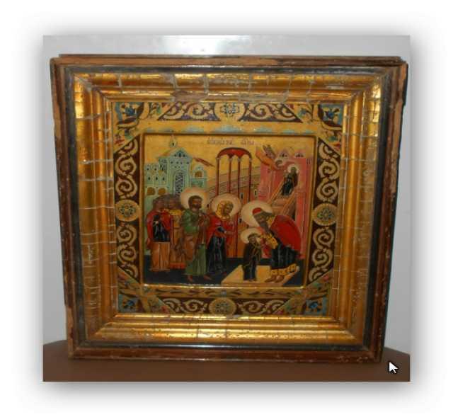 Продам Икона Введение в Храм Пресвятой Богороди