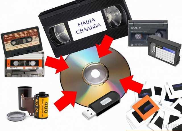 Предложение: Оцифровка видеокассет любых