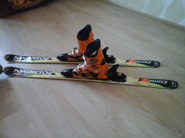 Продам горные лыжи