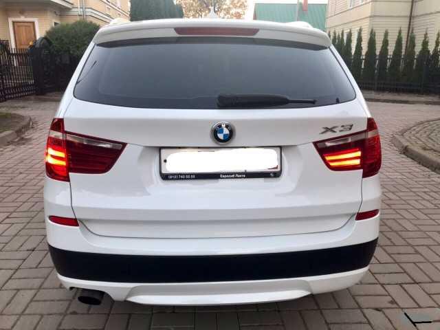 Предложение: BMW X3 F25 РЕМОНТ СВЕТОДИОДНЫХ ГАБАРИТОВ
