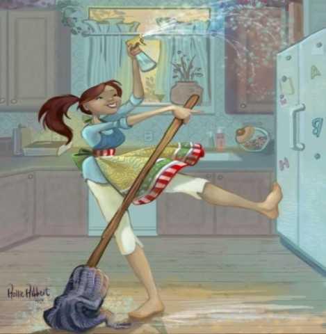 Предложение: Уборка квартиры.