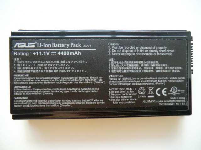 Продам Аккумулятор для ноутбука Asus F5