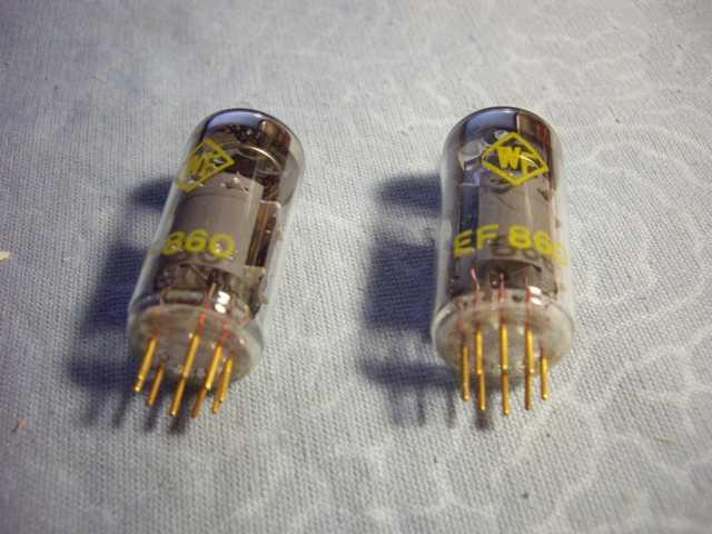 Продам: Радиолампа WF RFT EF860 Новые