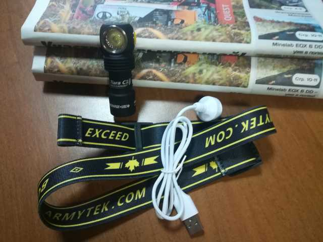 Продам Фонарь Armytek Tiara C1 USB XP-L (Теплый