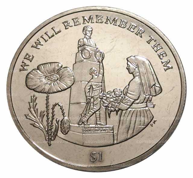 Продам: Монета Мемориал британских Виргинских ос