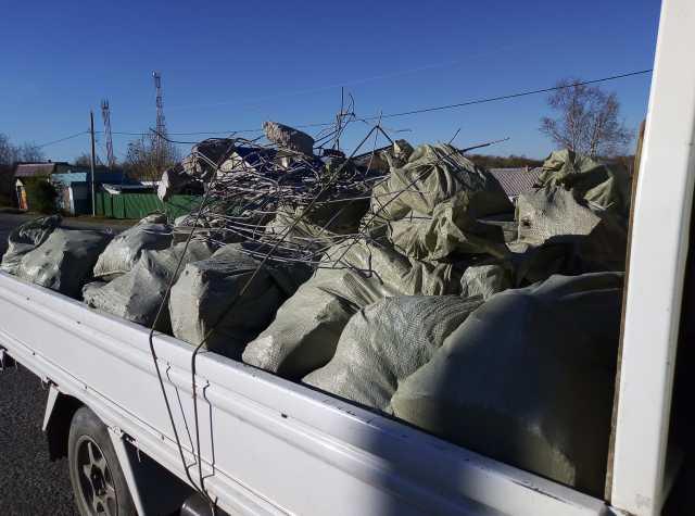 Предложение: Вывоз мусора, старой мебели до1, 5тонн.