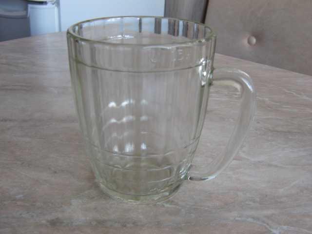 Продам кружка пивная 0.5 л, стеклянная