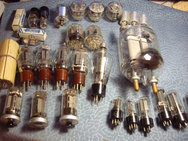 Продам: для радиолюбителей лампы