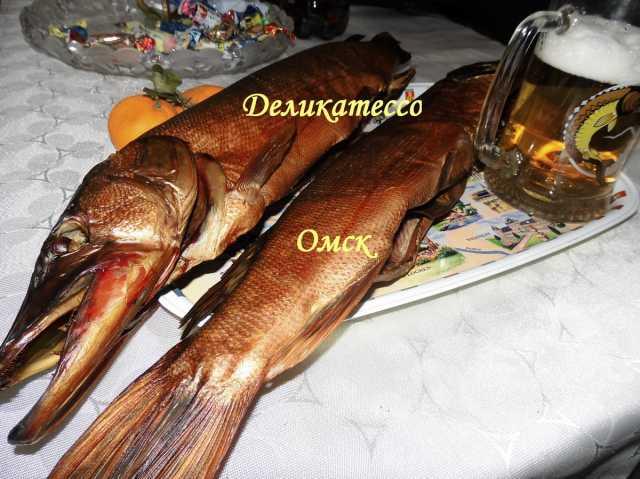 Продам Рыба окунь щука копченая