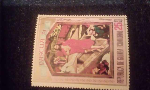 Продам: Марка с изображением Исуса Христа
