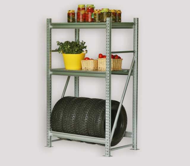 Продам Стеллаж новый металлический для гаража