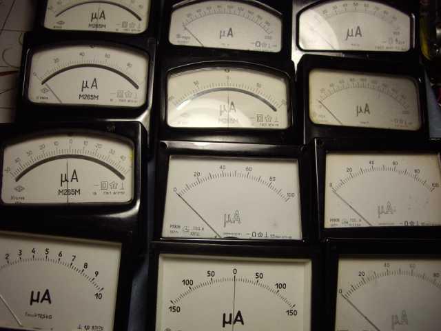 Продам: Микроамперметр для радиолюбителей