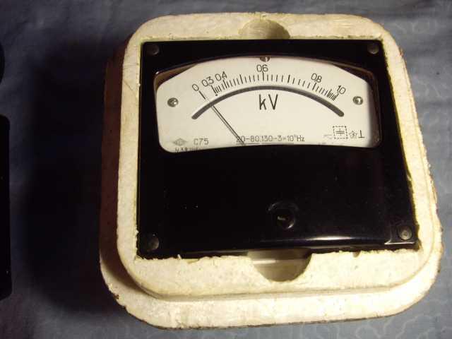 Продам: Вольтметр С75, киловольтметр С75