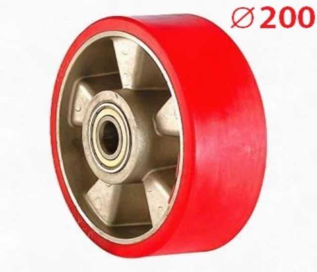 Продам Рулевое колесо полиуретановое Ø200