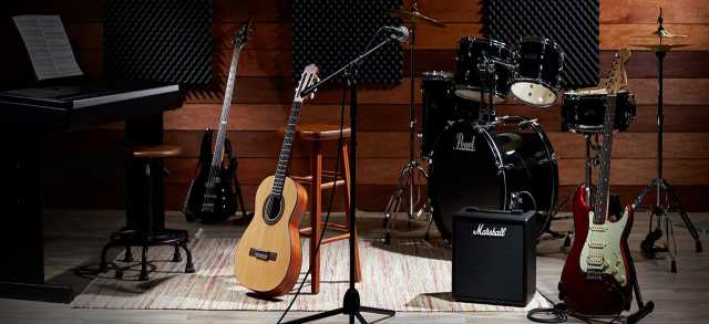 Продам музыкальные инструменты, оборудования