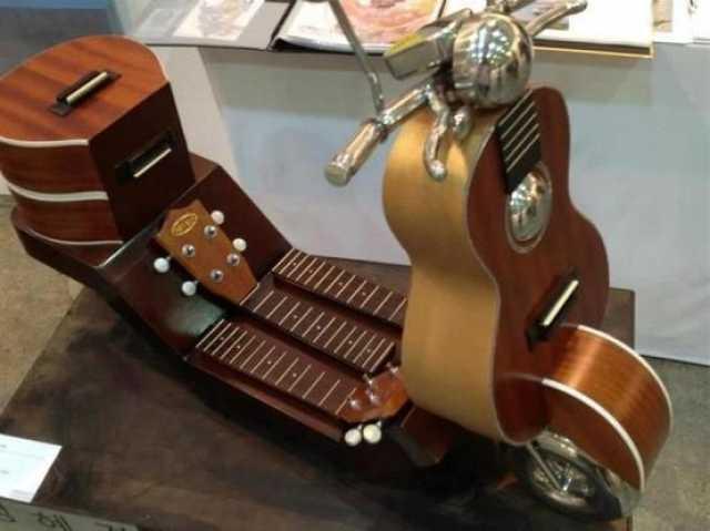 Приму в дар: гитару