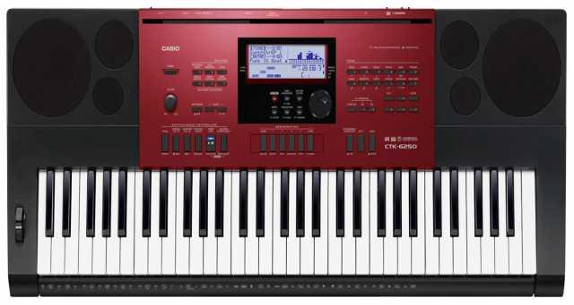 Продам: Синтезатор CASIO CTK-6250