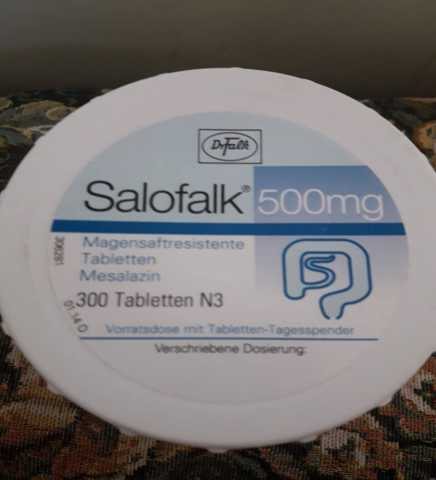 Продам Салофальк таблетки 500 мг 300 шт