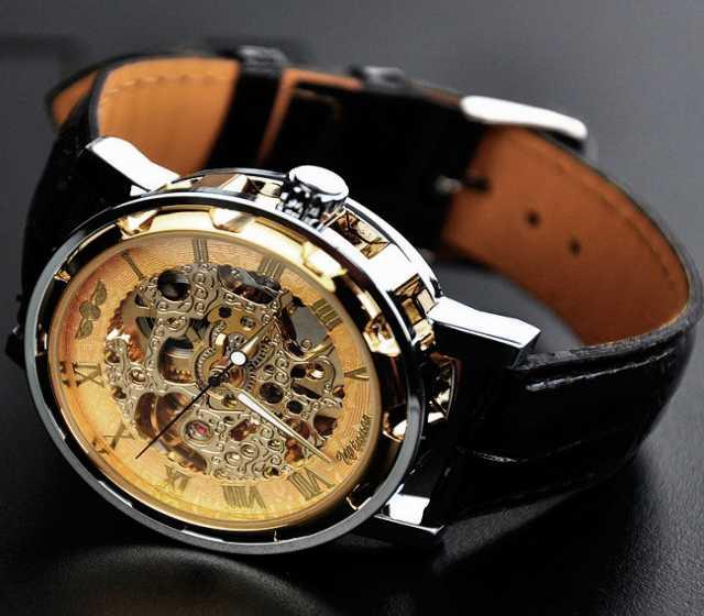 Продам Часы Winner Skeleton - Gold