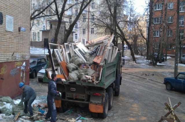 Предложение: Вывоз мусора в мешках на газели