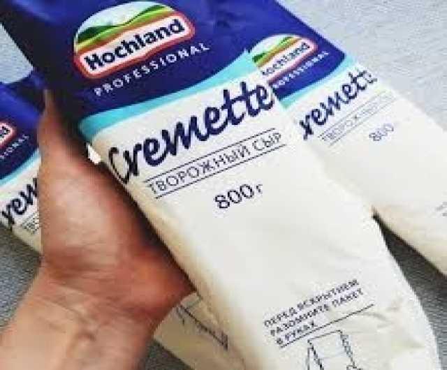 Продам Сыр хохланд Креметте 800гр
