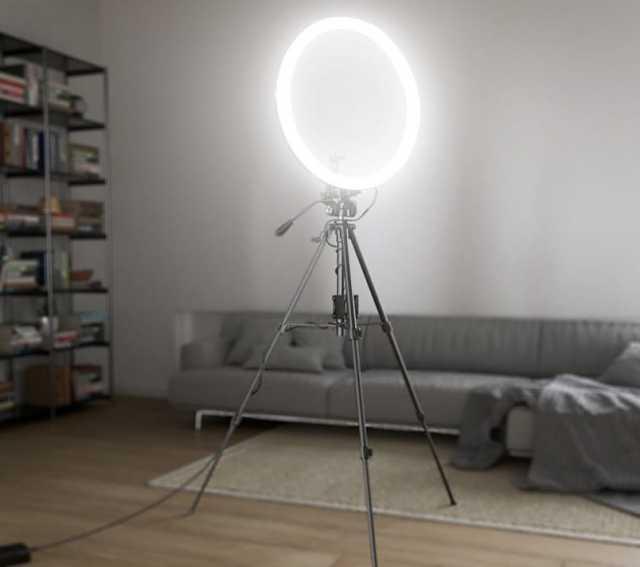 Продам Кольцевая лампа. Кольцевой свет